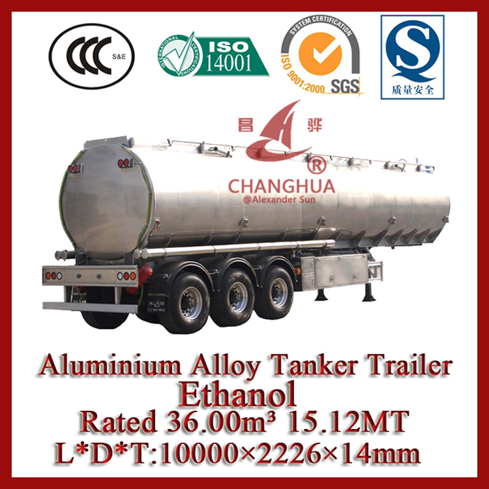 Aluminum Tanker for Oil Transport Customerized Design- in Lowest Price