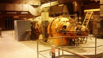 6 MW Stal-Laval Back Pressure Steam Turbine
