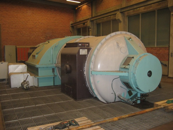 34 MW Condensing Steam Turbine with HFO Boiler Package
