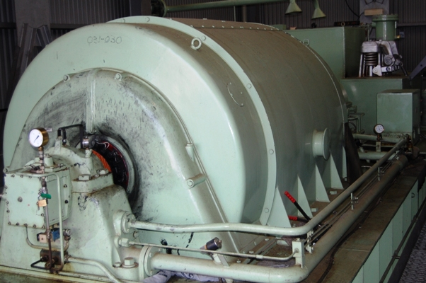 10 MW BBC- Sulzer Back Pressure Steam Turbine