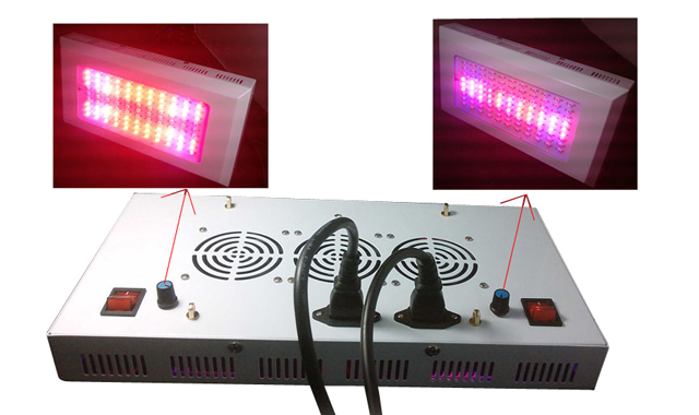 300W,4IP65, high efficiency,4780LM,120degree,99pcs LED, LED grow light fixture,100~240VAC