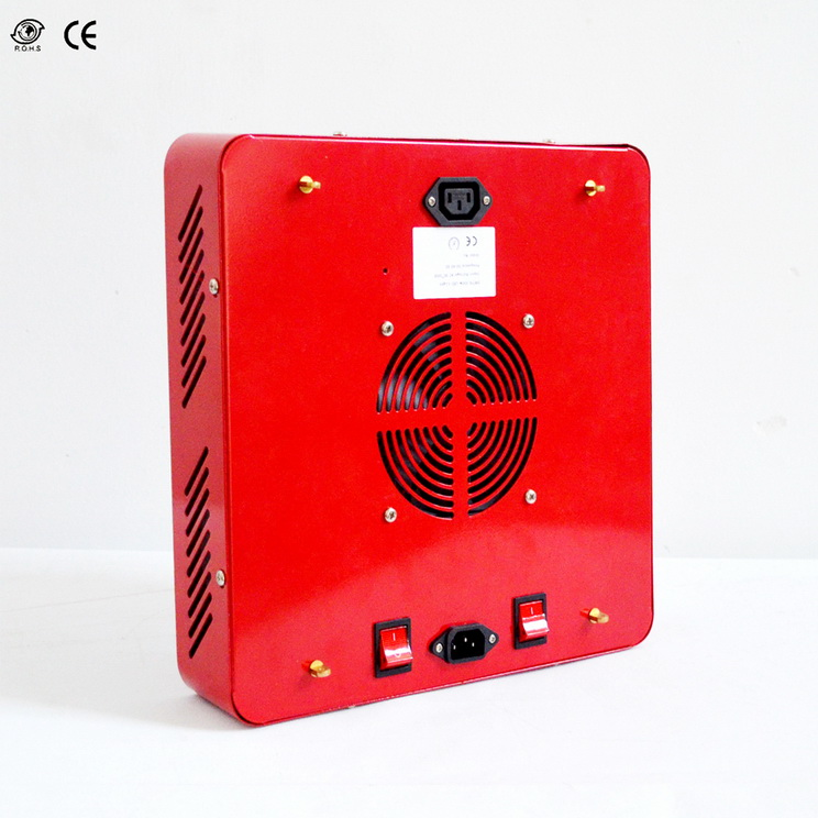 50000H, high efficiency, 200W,5040LM,90degree,72pcs LED, square LED grow light fixture