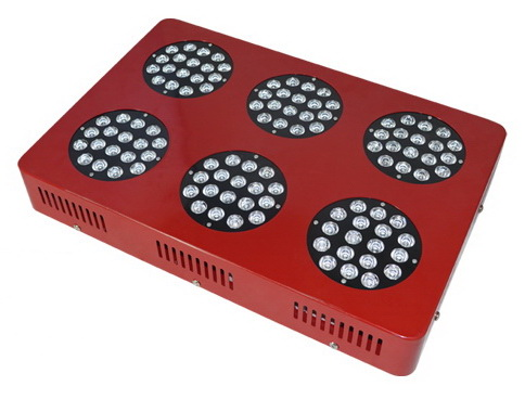 50000H, high efficiency, 280W,7580LM,90degree,108pcs LED, square LED grow light fixture