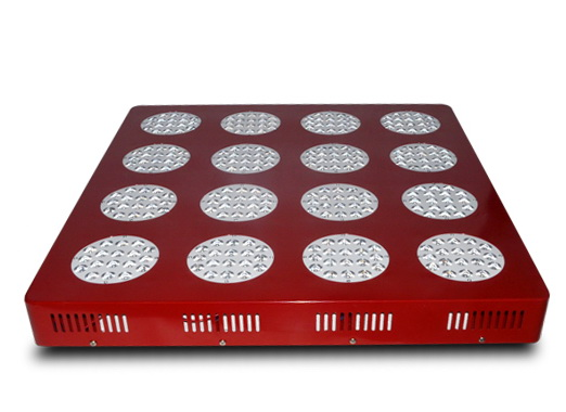 550mA, high efficiency, 720W,21000LM,90degree,288pcs LED, square LED grow light fixture