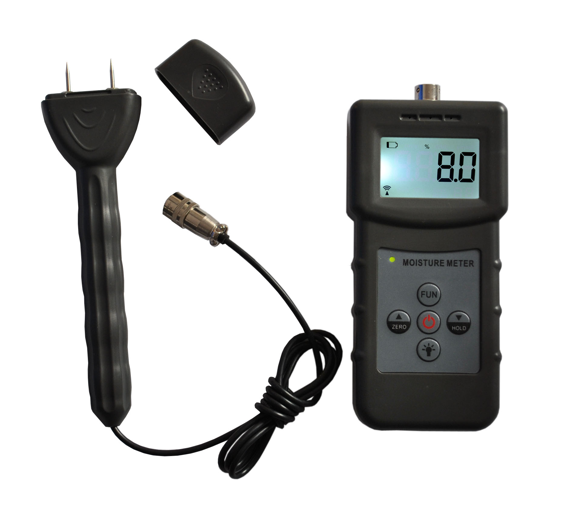 Pin type and inductive moisture meter MS360  2 in 1