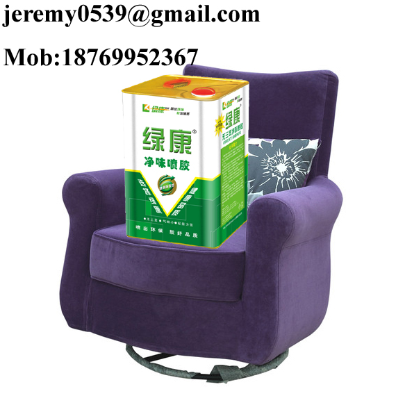 SBS spray adhesive for sofa making, furniture, sponge, foam