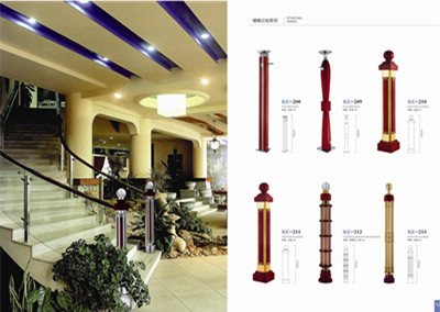 manufacturer of stair handrails