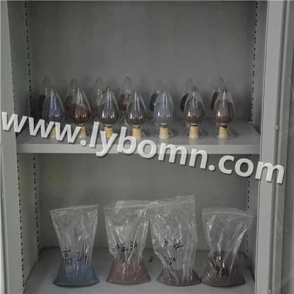 PLATED BROWN FUSED ALUMINA ABRASIVE