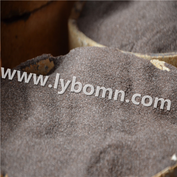 PLATED BROWN FUSED ALUMINA ABRASIVE Materials