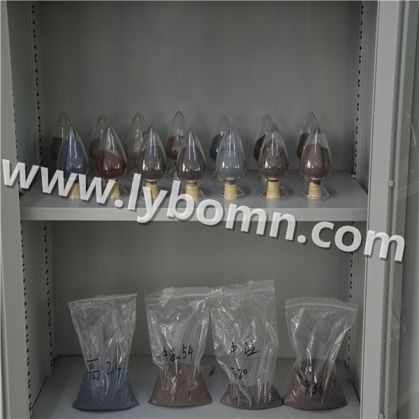 PLATED BROWN FUSED ALUMINA