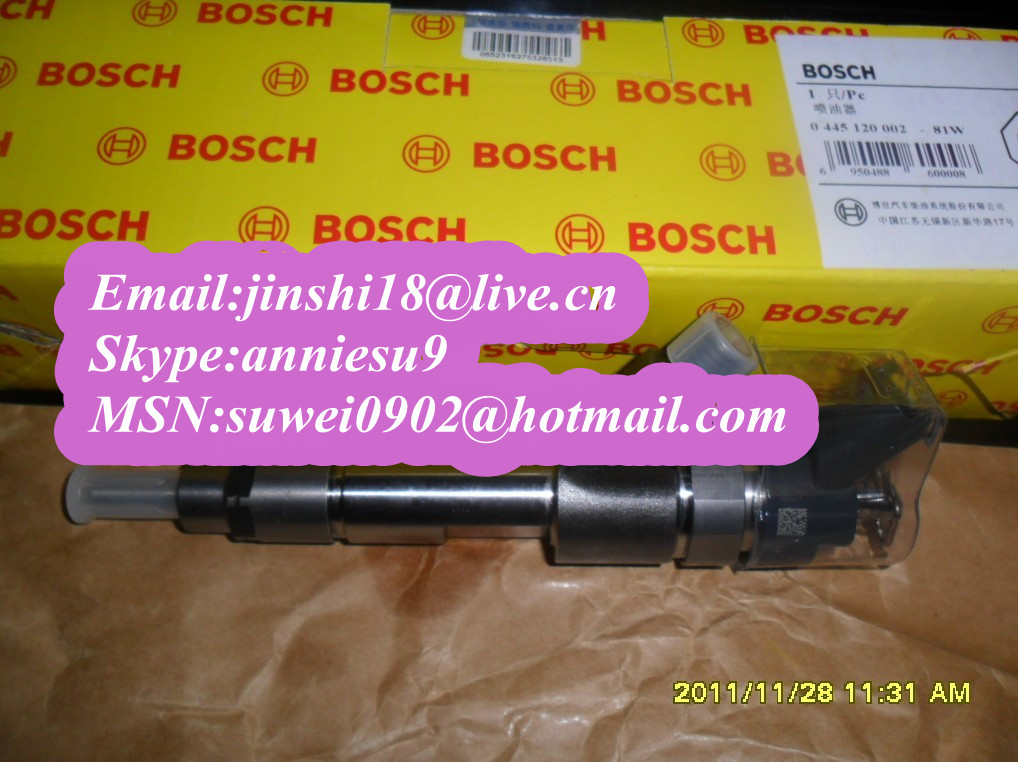 Bosch Common rail injector 0445120002 for IVECO 500313105 500384284