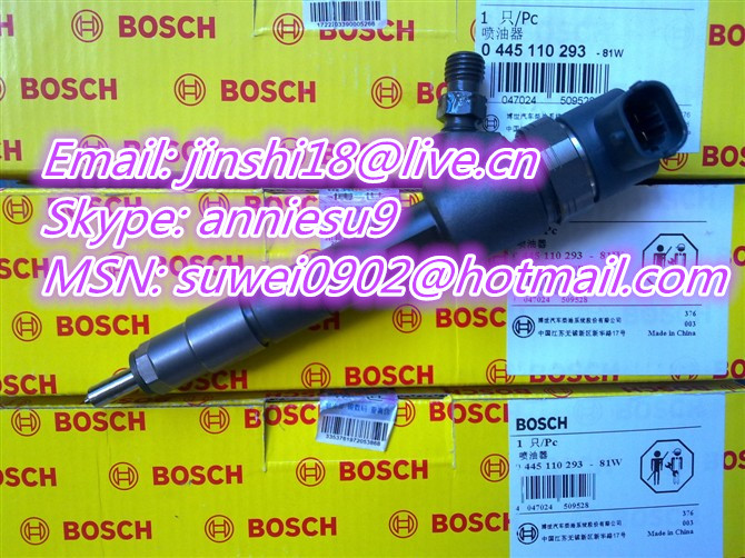 Bosch Common rail injector 0445110293 for GreatWall 1112100-E06