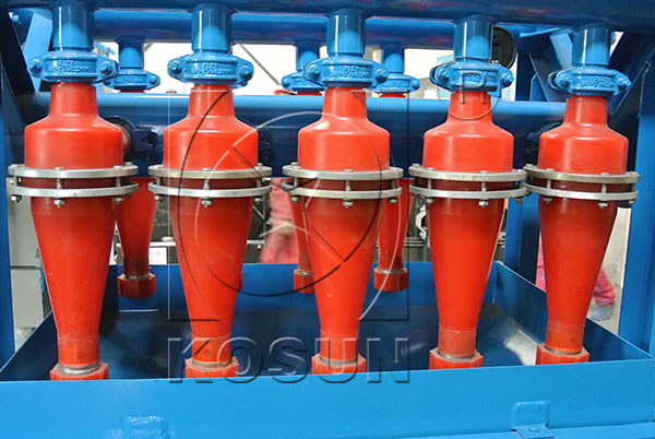 hydrocyclone for drilling mud desander and desilter