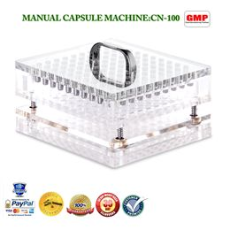 Manual Capsule Filler Machine Cn-100cl