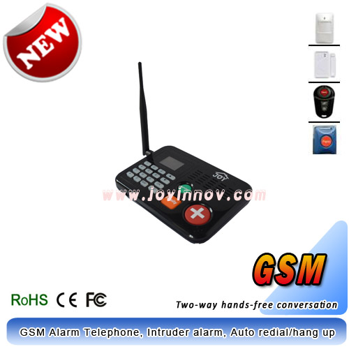 GSM alarm system,Panic button,Auto redial/hang up