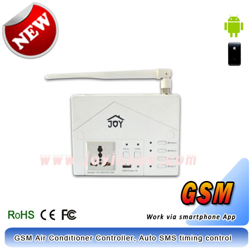 GSM Remote Control with Intelligent Air Conditioner