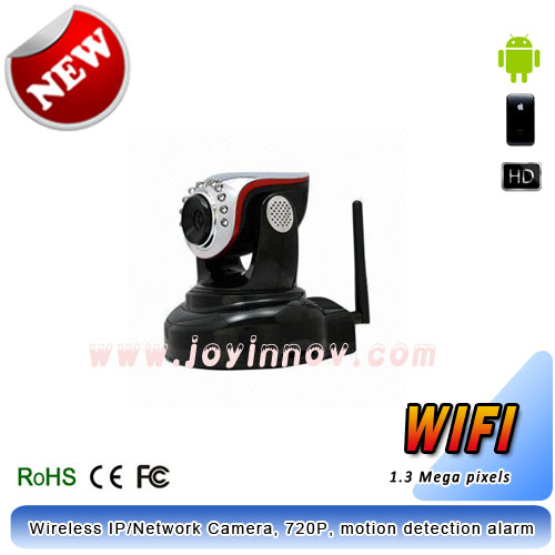 HD 720P Wireless IP/Network Camera,