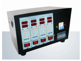Sequential valve gate controller