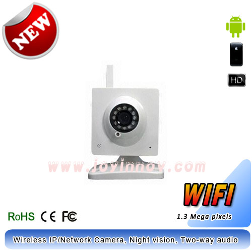 Wifi IP Camera,720P,two-way audio,32GB TF card