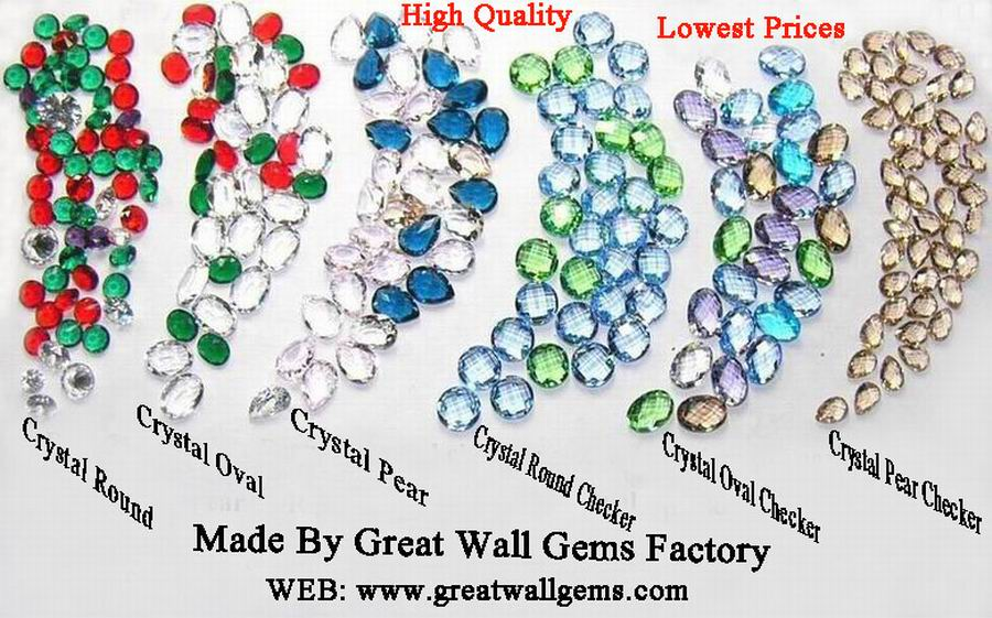 crystal round, crystal oval, crystal pear, crystal round checker, crystal oval checker, crystal pear checker,cubic zirconia,CZ