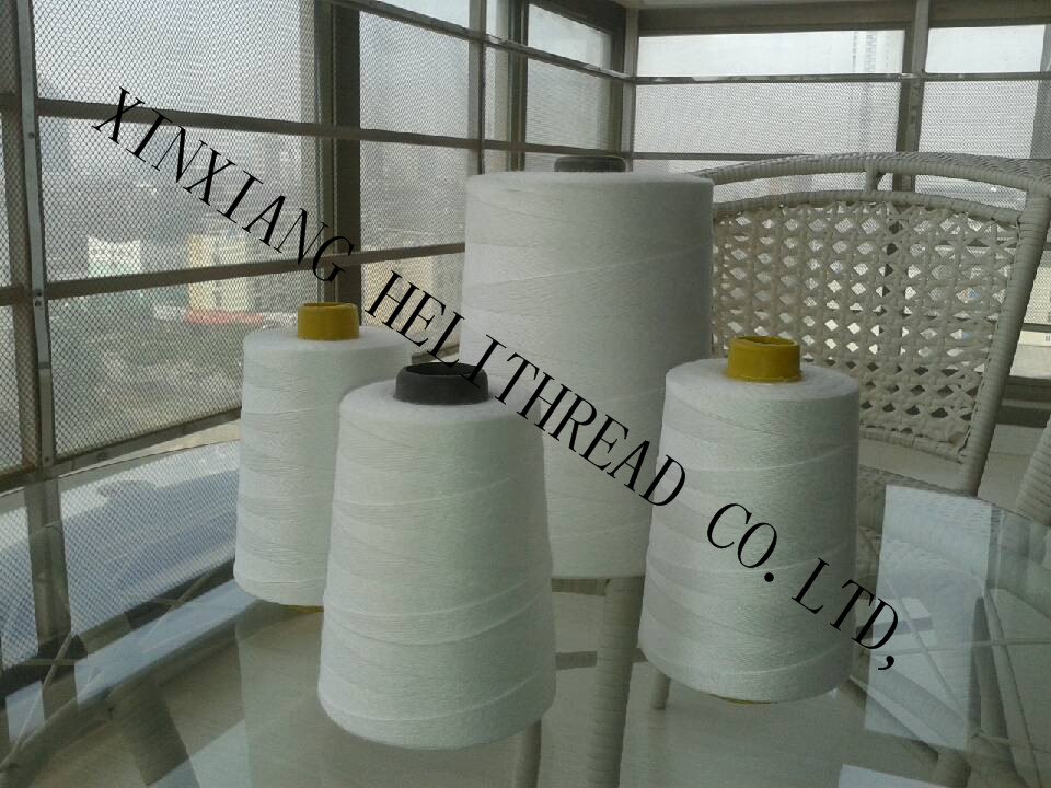 100% spun polyester virgin yarn for sewing threads