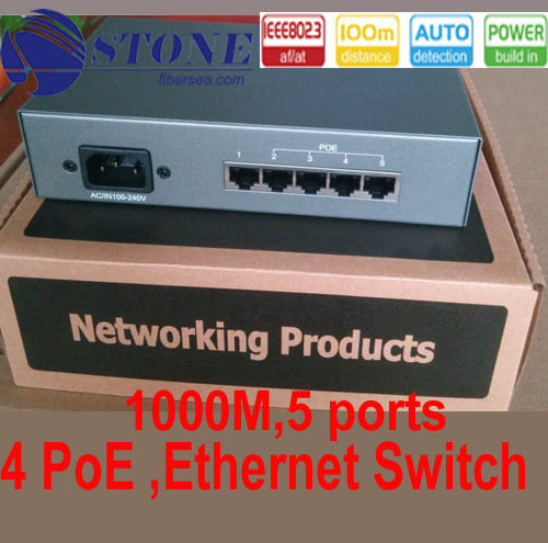 5-port 10/100/1000M Poe Ethernet Switch
