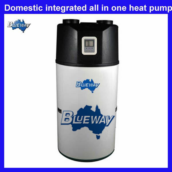 Domestic all in one ivt heat pumps hot water heater