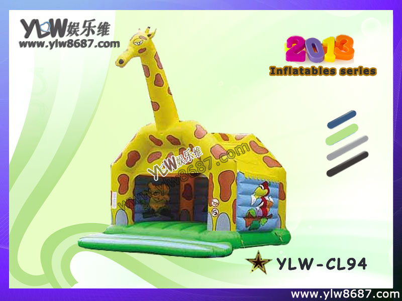inflatable giraff castle/bouncer,inflatable trampoline