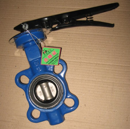 DN40/1.5 Cast Iron Butterfly Valve PN10/16