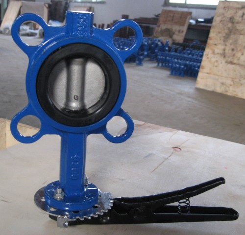 DN50/2 Cast Iron Butterfly Valve PN10/16
