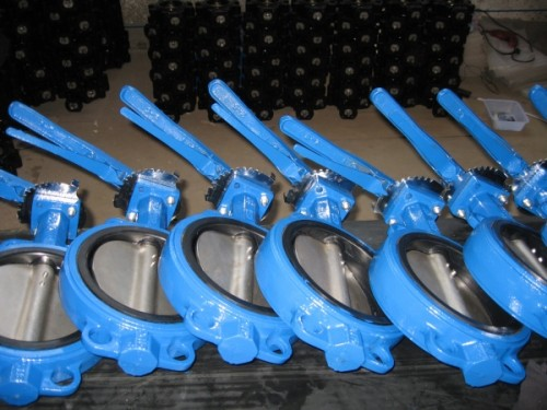 DN150/6 Cast Iron Butterfly Valve PN10/16