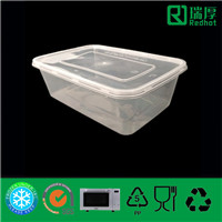 Disposable Takeaway Microwaveable Food Container (650ml)