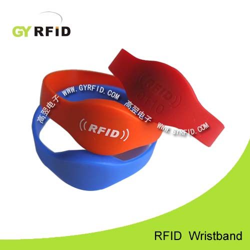 WRS05 NFC Silicon Wristband, water proof type (GYRFID)
