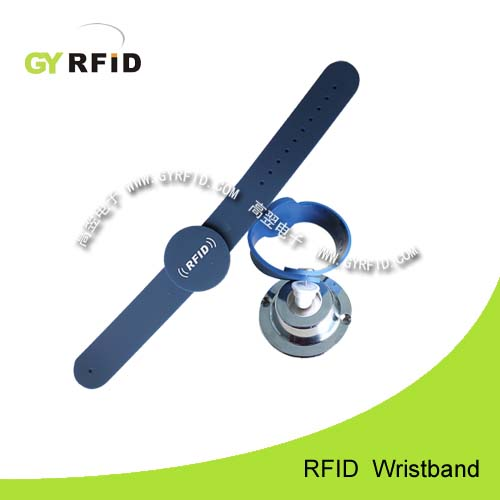 WRS03 is a kind of RFID Lockable Wristbands with 125Khz, 13.56MHz RFID (GYRFID)