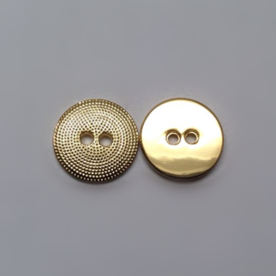 Sewing Button 2 Holes Gold Color