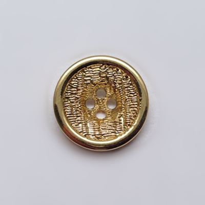 Sewing Button 4 Holes Gold Color