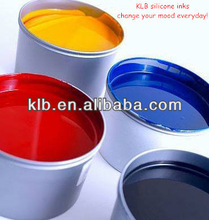 Silicone printing ink for silicone wristband