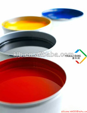 Silicone Screen Printing Ink Ink and Catalyst Two Components