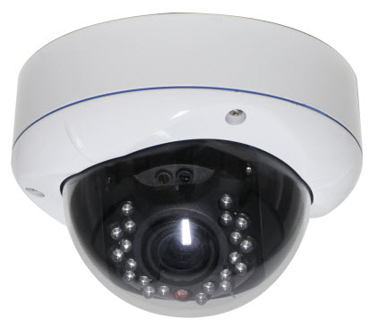 1.3 Mp HD IP network IR Dome camera