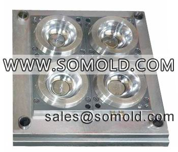 plastic PS thin wall bowl mould