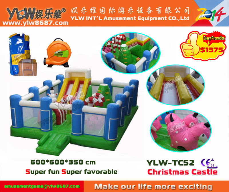 inflatable trampoline,inflatable bouncer/castle