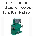 FD-511 3-phase Hydraulic Polyurethane Spray Foam Machine