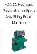 FD-511 Hydraulic Polyurethane Spray And Filling Foam Machine