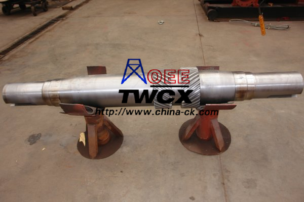 OEE F-1600 mud pump pinion shaft