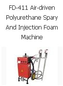 FD-411 Air-driven Polyurethane Spary And Injection Foam Machine