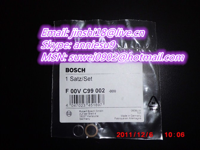 Bosch Common rail injector seal kit F00VC99002