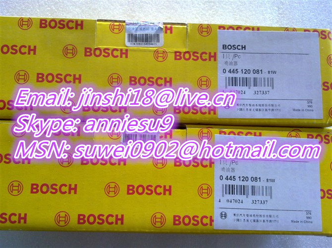 0445120081 common rail injector for XICHAI 4DF 6DF
