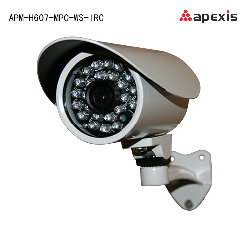 Apexis IP camera APM-H607-MPC-WS-IRC megapixel wireless IR-Cut h.264