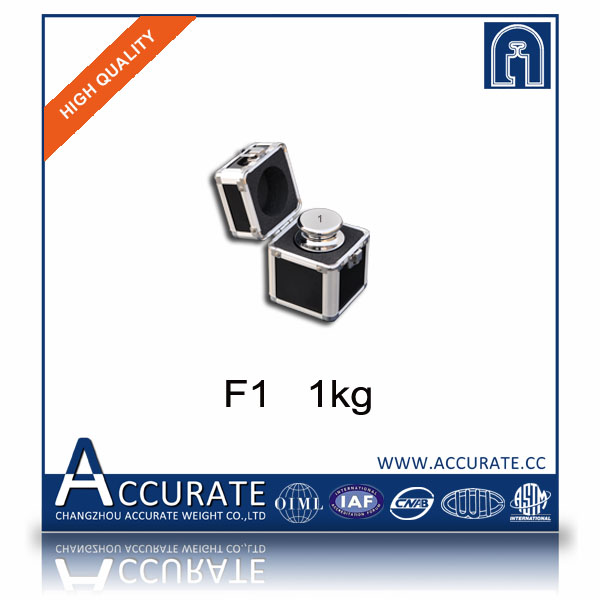 F1 1kg stainless steel calibration weights