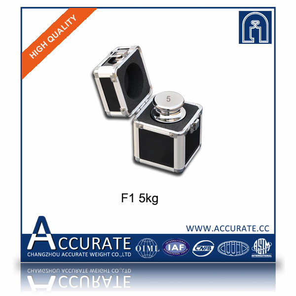 F2 5kg stainless steel calibration weights